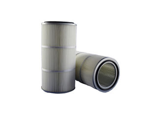 5um,0.5um,0.2um,2um,Particulate Arresting Dust Filter Cartridge , Shot blasting Filter Air Cartridge