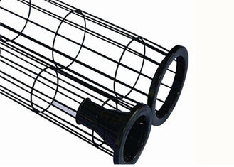 Stainless Steel Dust Collector Parts Accessories Cage 2mm Thick Epoxy Surface